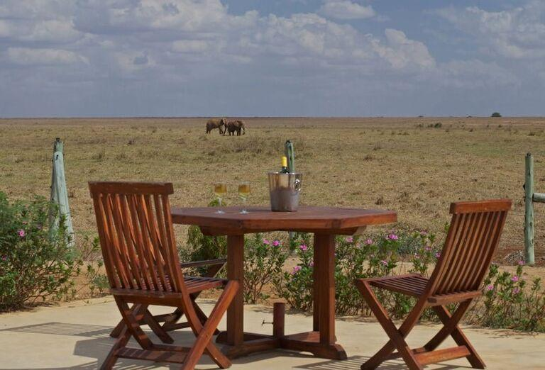 Keňa - Dokonale safari a oddych na bielej pláži- terasa