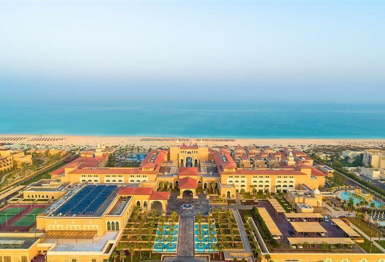 Areál hotela Rixos Saadiyat Island Abu Dhabi