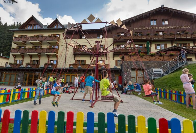Detské ihrisko  - Hotel Ski & Wellness Residence Družba