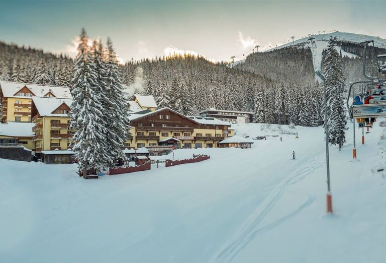 Areál a sneh - Hotel Ski & Wellness Residence Družba