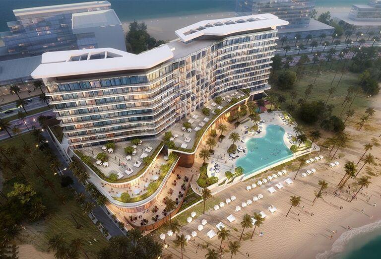 Hotel Hampton by Hilton Marjan Island -Areál hotela