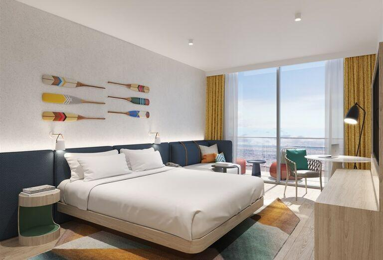 Hotel Hampton by Hilton Marjan Island -Hotelová izba