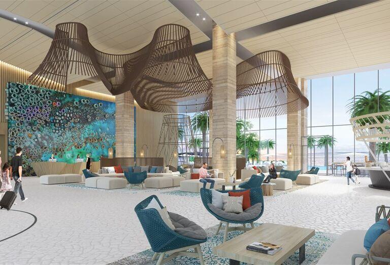 Hotel Hampton by Hilton Marjan Island -Posedenie