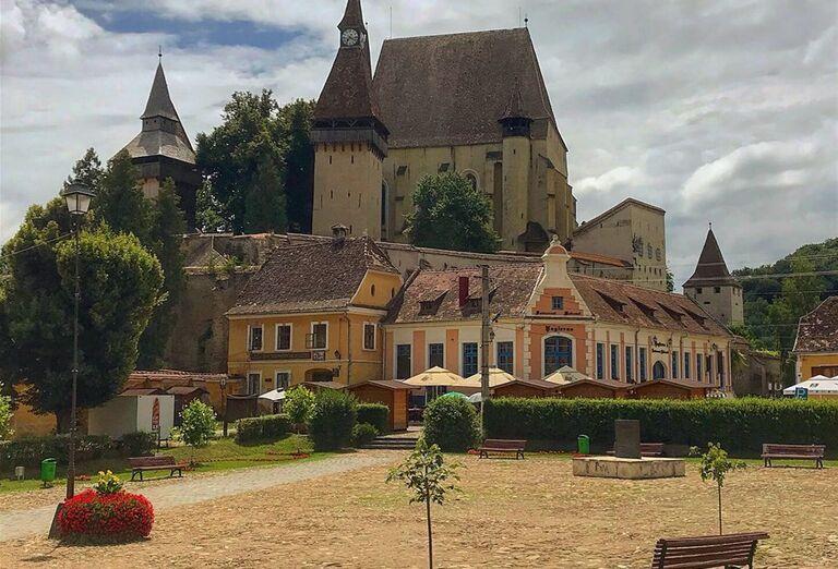 Architektúra a história v Rumunsku