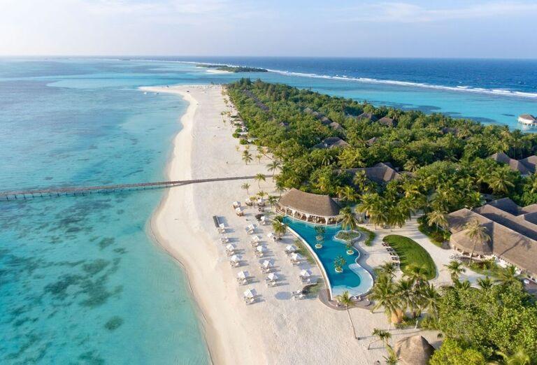 Hotelový Resort Kanuhura A Sun Resort Maldives - Pohľad na pláž
