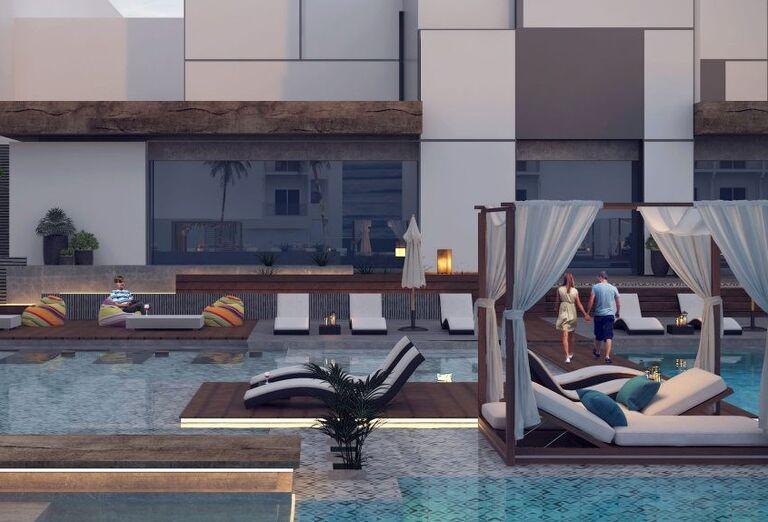 Lehátka - Hotel Amarina Abu Soma Bay