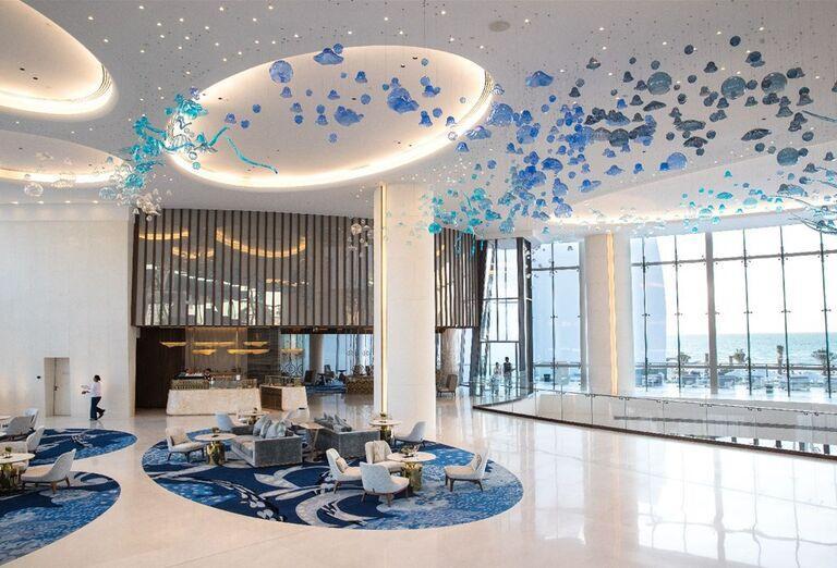 Hotelový interiér