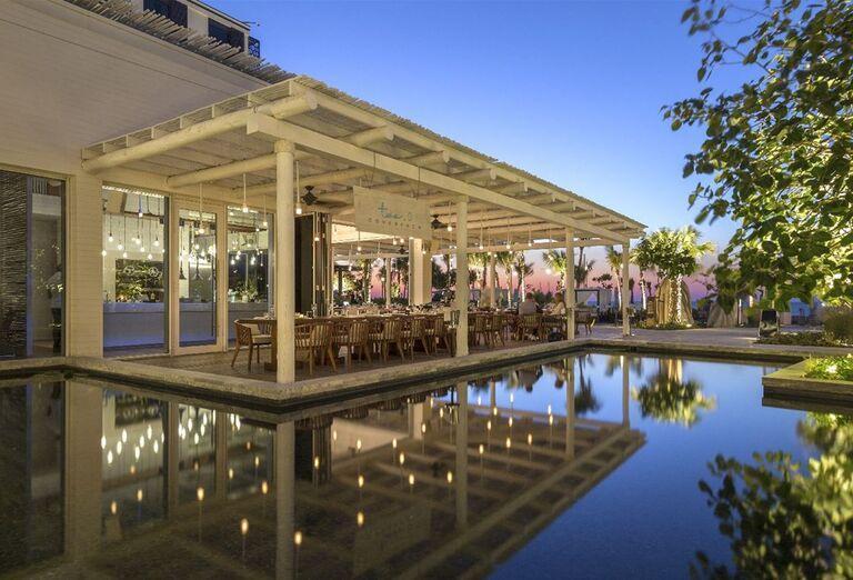 Terasa - Hotel Caesars Palace