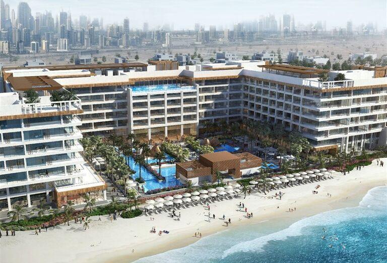 Hotel Mandarin Oriental Jumeirah Dubai - Pohľad na okolie