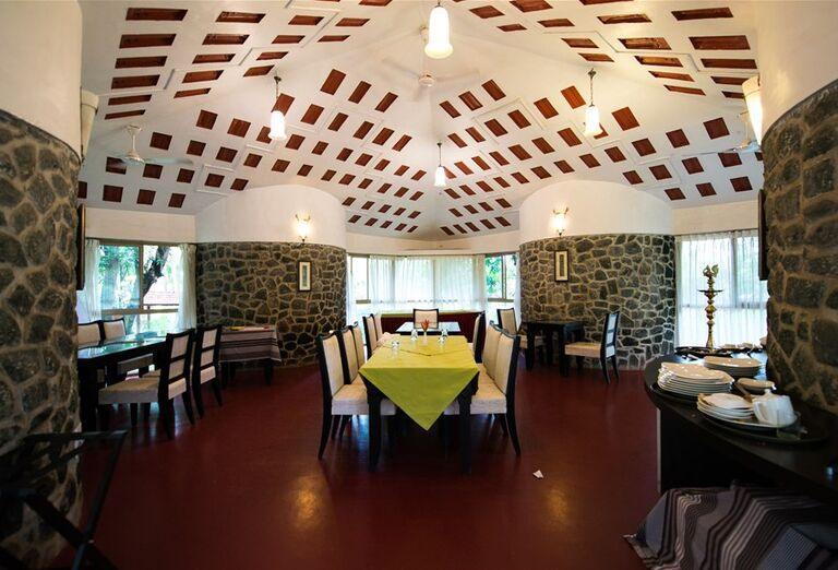Reštaurácia - Hotelový Resort Kairali - The Ayurvedic Healing Village