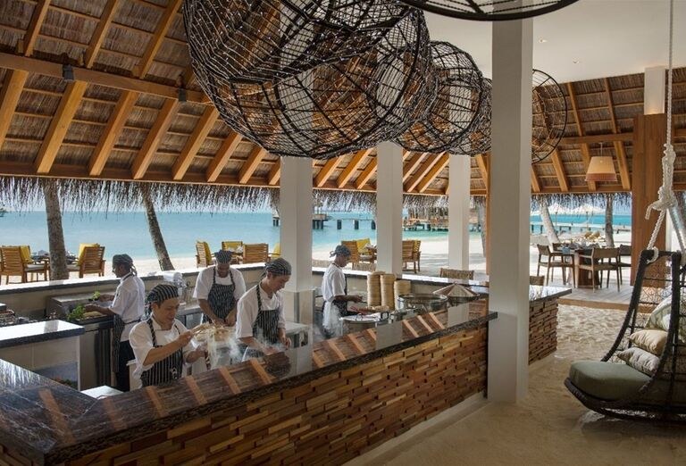 Hotelový Resort Hotel Conrad Maldives Rangali Island - Bar