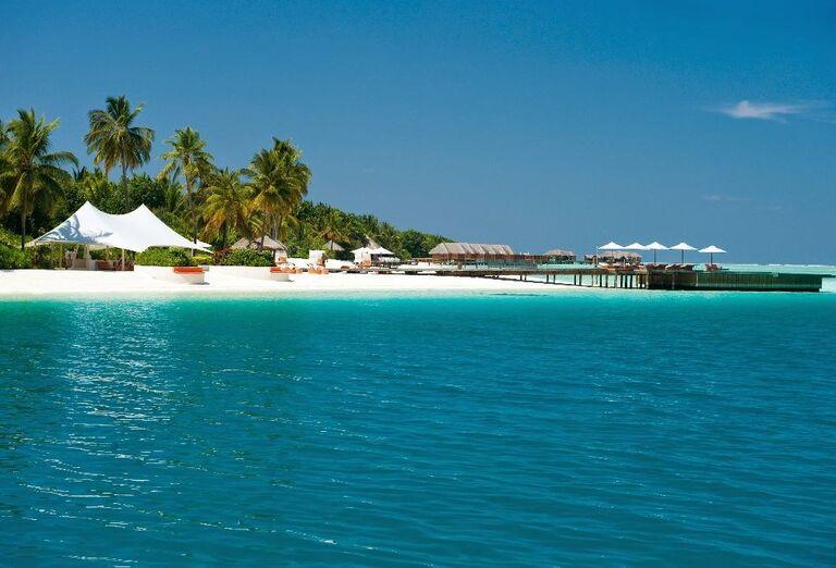 Hotelový Resort Hotel Conrad Maldives Rangali Island - Pohľad na ostrov
