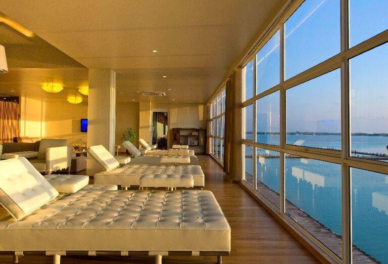 Hotelový Resort Hotel Conrad Maldives Rangali Island - Posedenie