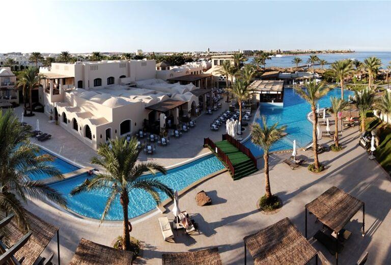 Areál hotela    , Jaz Makadina, Egypt