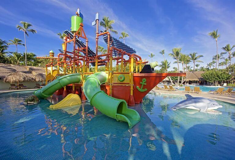 Hotel Iberostar Selection Bavaro - detské atrakcie v bazéne