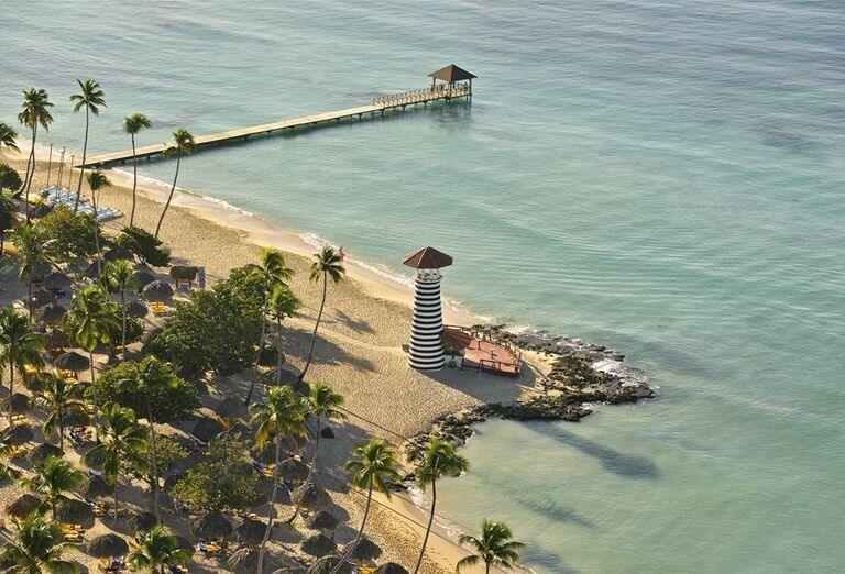 Hotel Iberostar Hacienda Dominicus - pohľad na maják