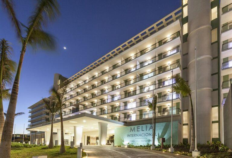 Hotel Melia Internacional- hotelový exteriér
