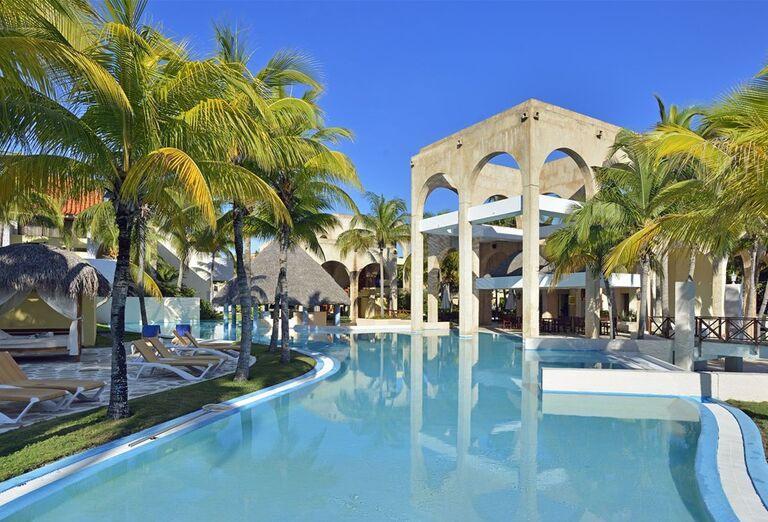 Hotelový bazén Meliá Las Americas