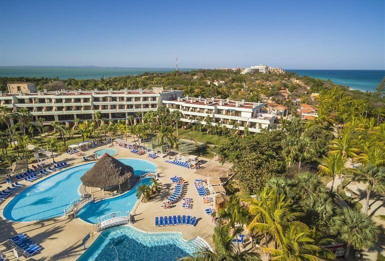 Pohľad na Hotel Sol Palmeras