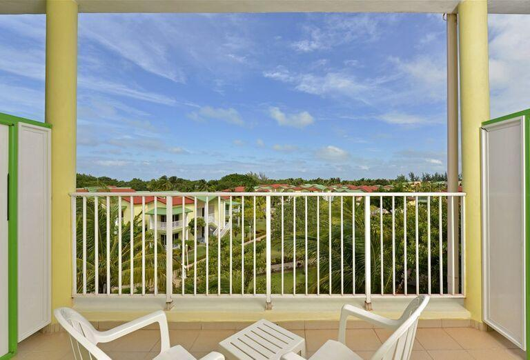 Hotel Iberostar Tainos - Výhľad z terasy