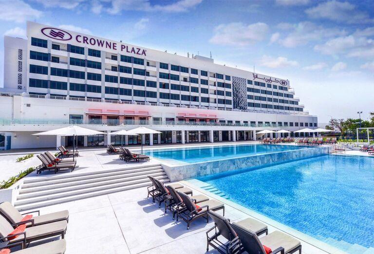 Hotel Crowne Plaza Muscat - Areál hotela