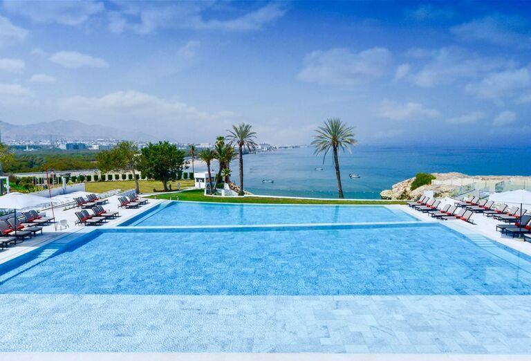 Hotel Crowne Plaza Muscat-hotelový bazén