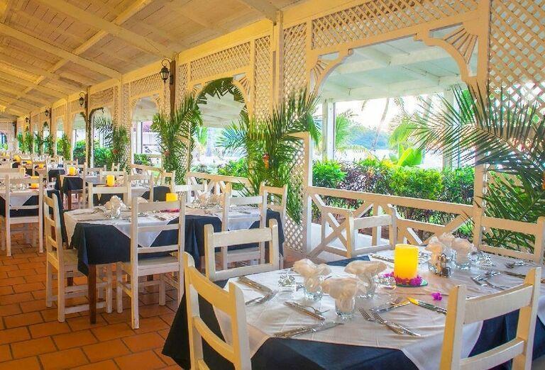 Hotelový Resort Andilana Nosy Be - reštaurácia