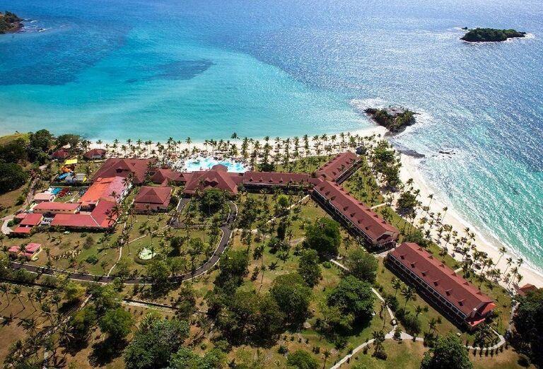 Hotelový Resort Andilana Nosy Be - Areál hotela