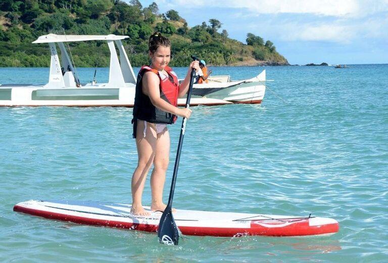 Hotelový Resort Andilana Nosy Be - surf