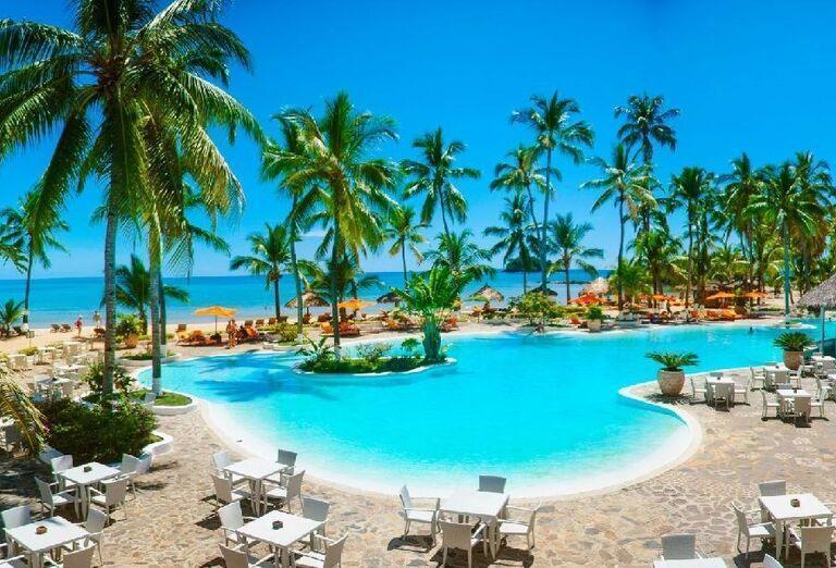 Hotelový Resort Andilana Nosy Be - hotelový bazén