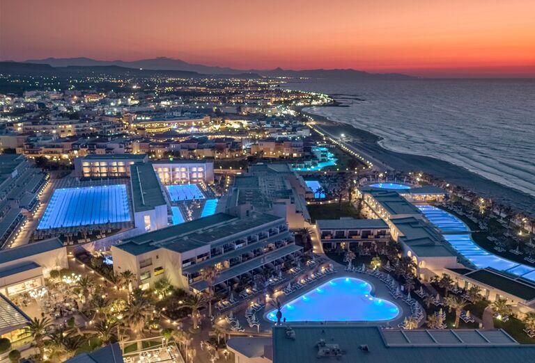 Pohľad v hoteli Lyttos Beach