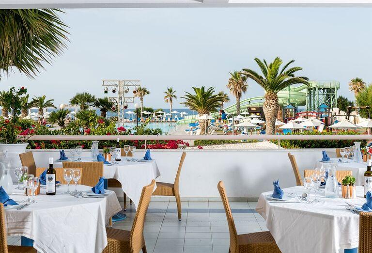 Reštaurácia hotela Lyttos Beach, Grécko, Kréta, Hersonissos
