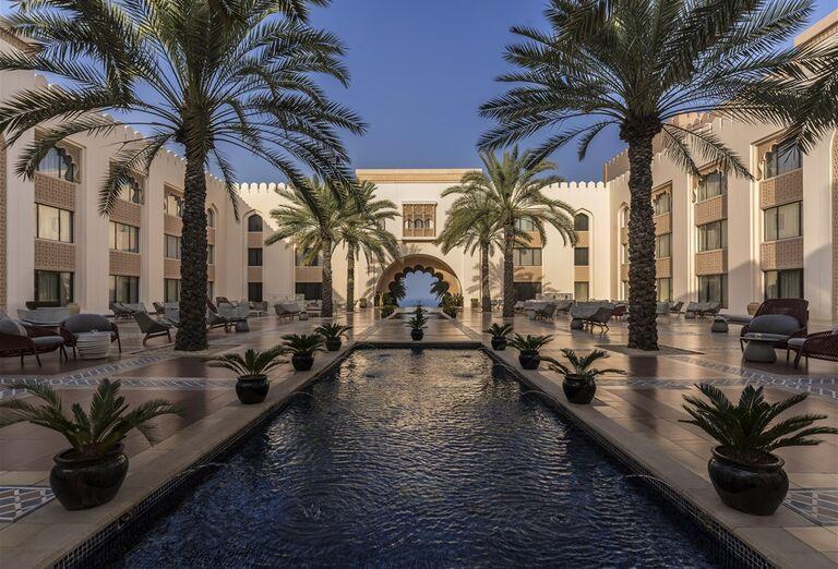 Hotel Shangri-La Al Husn Resort & Spa -Areál hotela