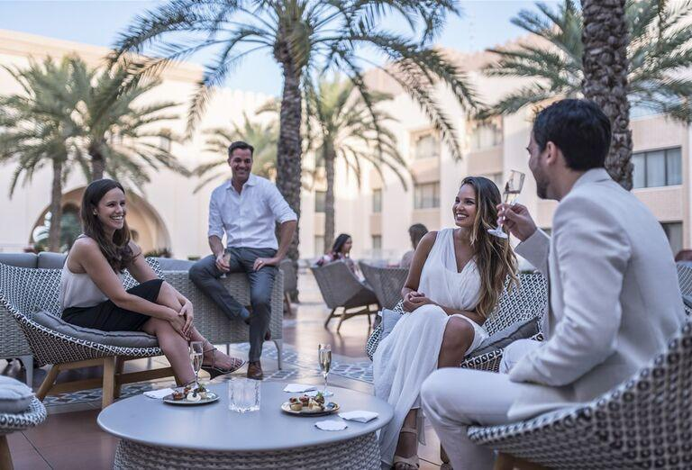 Hotel Shangri-La Al Husn Resort & Spa - posedenie