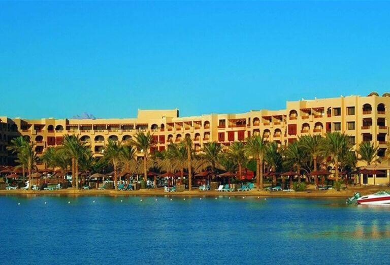 Pohľad na Continental Hotel Hurghada