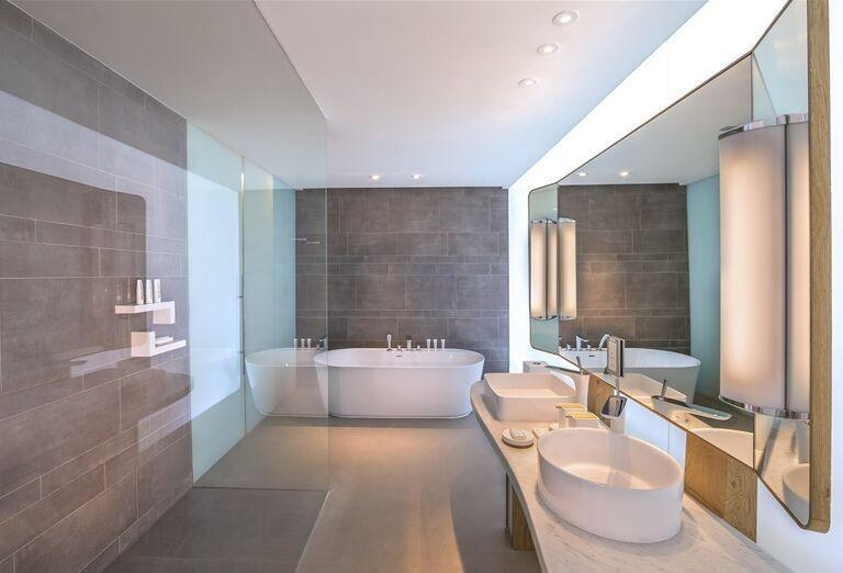 kúpeľňa  v hoteli Nikki Beach Resort and Spa Dubai