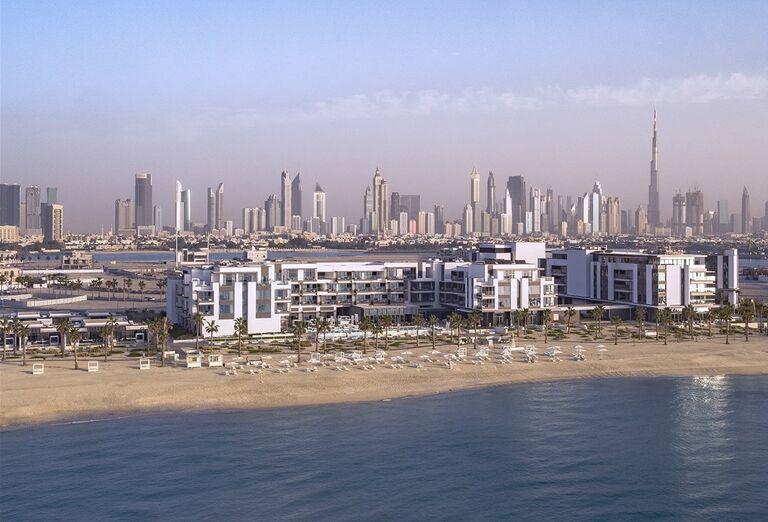 Pohľad na okolie hotela Nikki Beach Resort and Spa Dubai