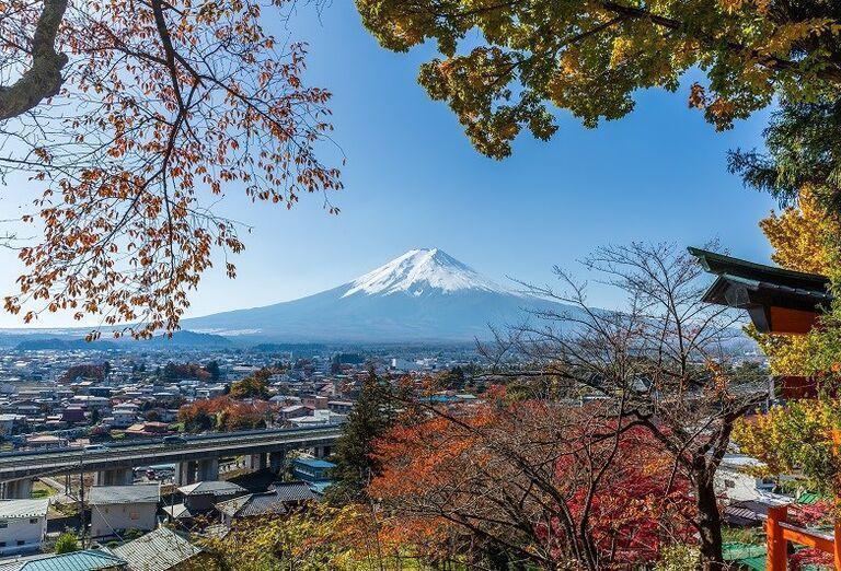 Japonsko - Letné Olympijské hry- pohľad na mesto