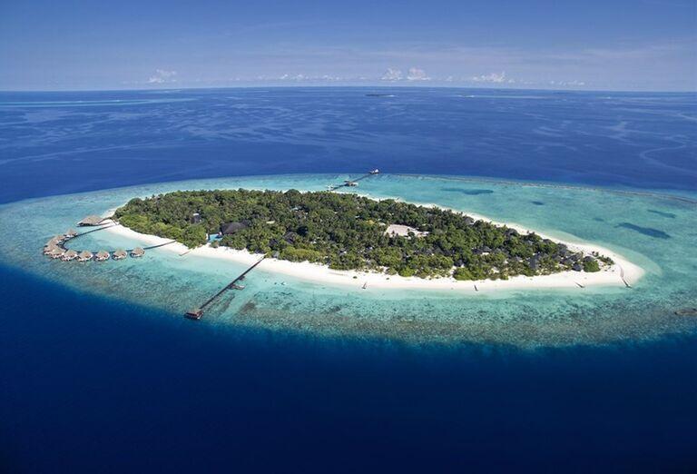 Hotelový Resort Adaaran Select Meedhupparu - Pohľad na ostrov