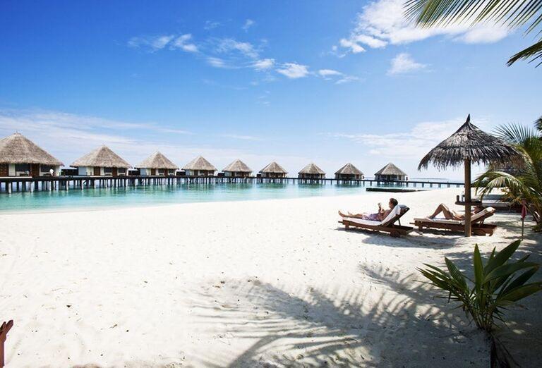 Hotelový Resort Adaaran Select Meedhupparu - Piesočnatá pláž