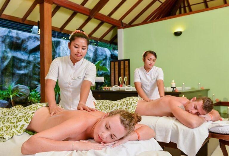 Hotelový Resort Adaaran Select Meedhupparu - masáž