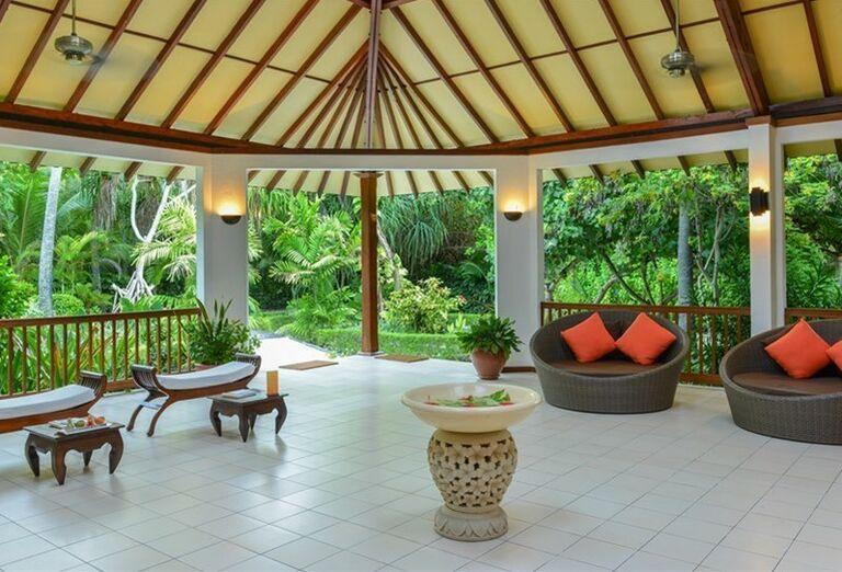 Hotelový Resort Adaaran Select Meedhupparu - Posedenie