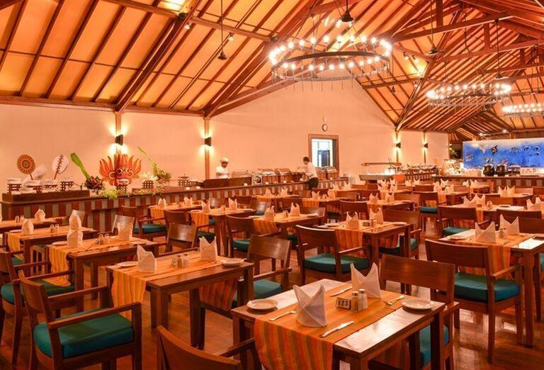 Hotelový Resort Adaaran Select Meedhupparu - reštaurácia
