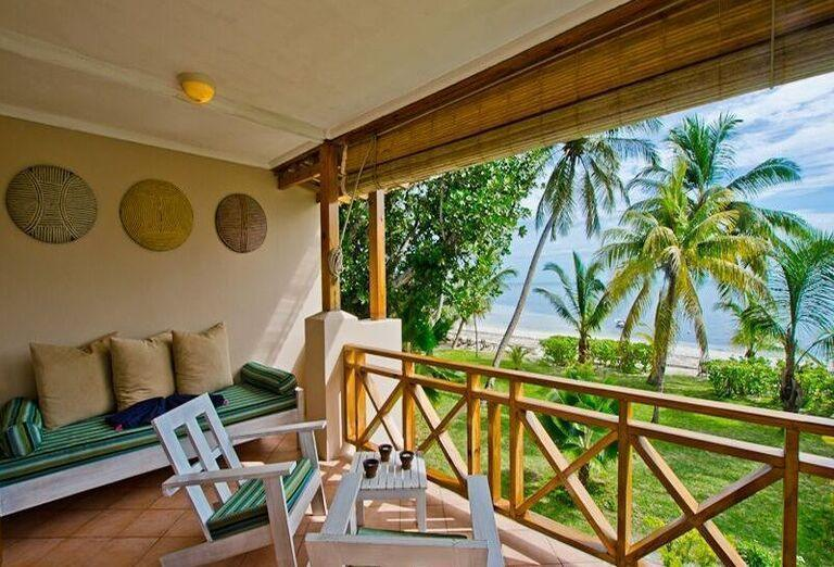 Hotel Indian Ocean Lodge - terasa a posedenie