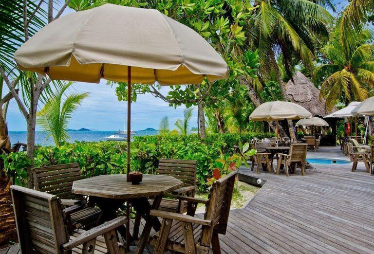 Hotel Indian Ocean Lodge - Posedenie
