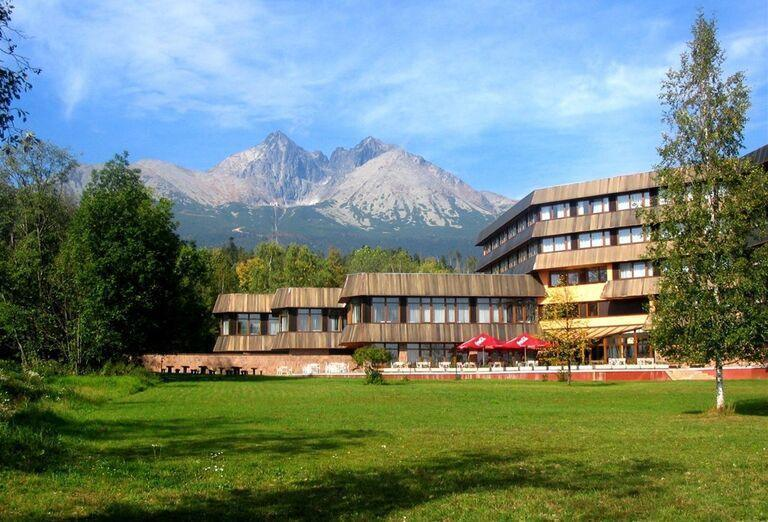 Pohľad na hotel Sorea Titris