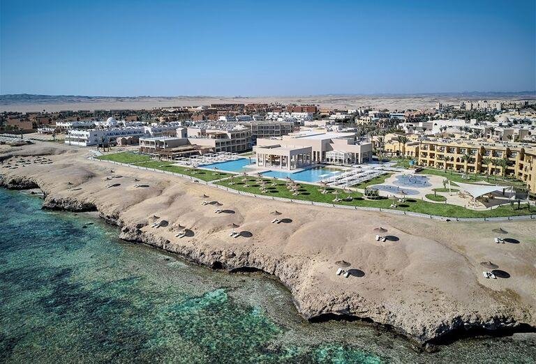 Hotel Jaz Maraya Pohľad na areál