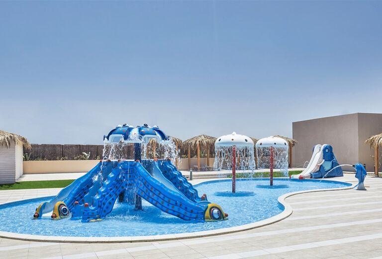 Hotel Jaz Maraya - detské atrakcie v bazéne