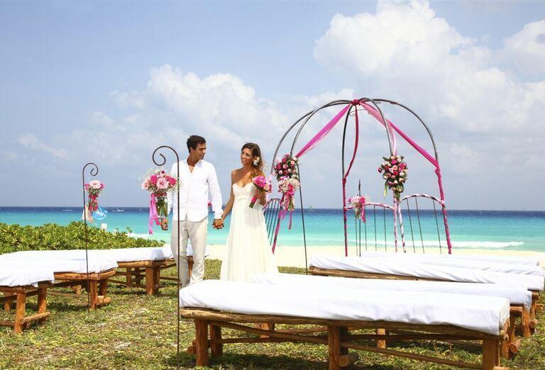 Hotel Sandos Playacar Beach - novomanželia