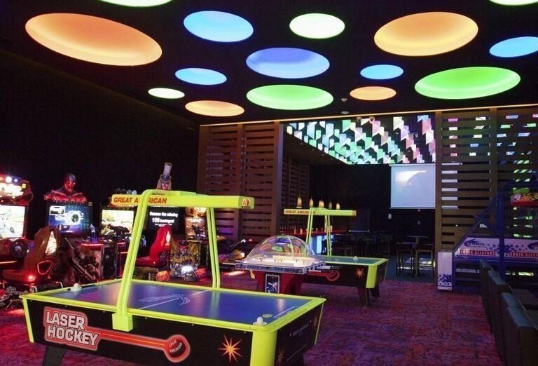 Hotel Sandos Playacar Beach - hry v hoteli
